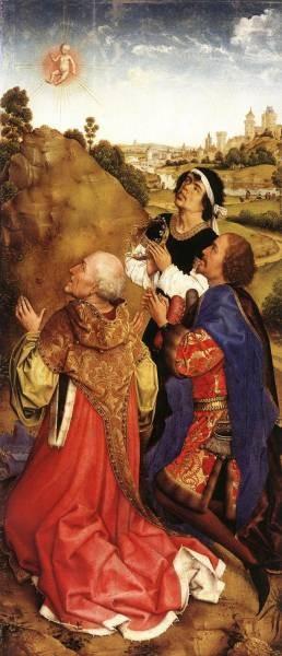 Weyden Bladelin Triptych right wing